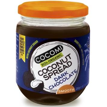 COCOMI Coconut cream flavored with dark chocolate BIO 230g