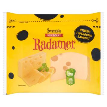 Ser Radamer - Serenada. Wyprodukowany w Polsce ser dojrzewający typu szwajcarsko-holenderskiego.