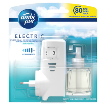 AMBI PUR ELECTRIC Electric air freshener and refill Ocean Mist 1 pc