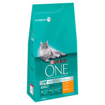 PURINA ONE Adult Karma dla kotów bogata w kurczaka i pełne ziarna 1.5kg