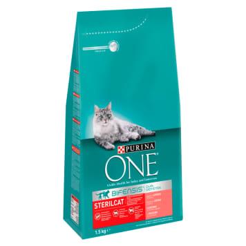 PURINA ONE Sterilcat Karma dla dorosłych kotów bogata w łososia i pszenicę 1.5kg