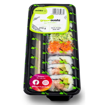 GREEN SUSHI Nobu sushi set 210g