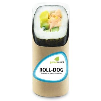 GREEN SUSHI Roll-dog Smoked salmon 180g