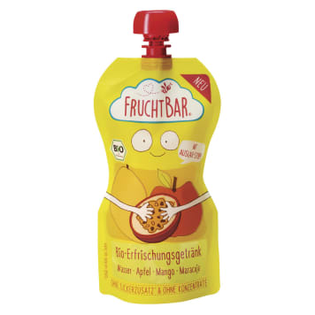 FRUCHTBAR Fruit water with a taste of mango, passion fruit, BIO apple 250 ml