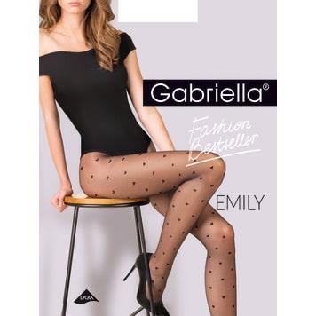 GABRIELLA Tights Emily 20 Den, size 2, colour Nero 1pc