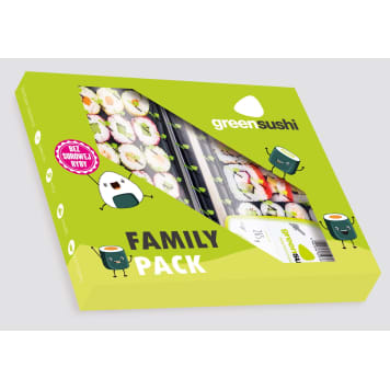 GREEN SUSHI Zestaw sushi Family Pack 525 g