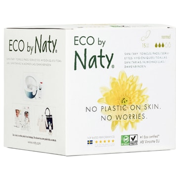 NATY Ecological nappies Normal 15 pcs 1 pc