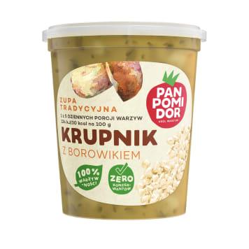 PAN POMIDOR Krupnik z borowikiem Zupa tradycyjna 400g