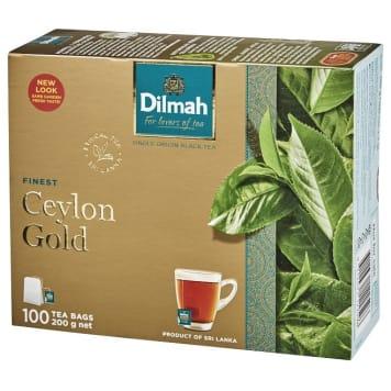 Herbata Ceylon Gold w torebkach - Dilmah