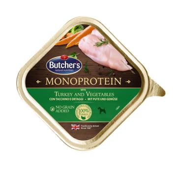 BUTCHER'S Monoprotein Karma dla psa z indykiem i warzywami 150g
