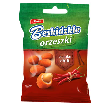 BESKIDZKIE Coated peanuts with chili flavour 70 g