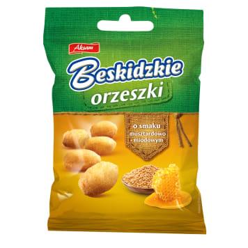 BESKIDZKIE Coated peanuts with mustard-honey flavour 70g