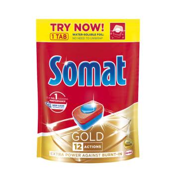 SOMAT Gold Dishwasher tablets 1pc