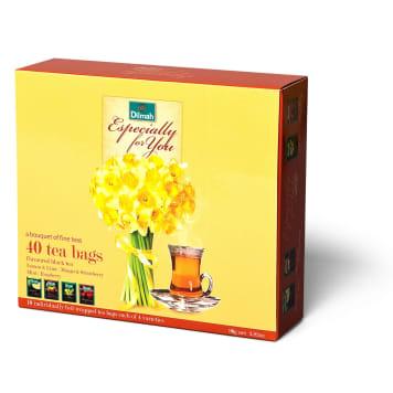 DILMAH A set of black flavored teas 40x20g 80g