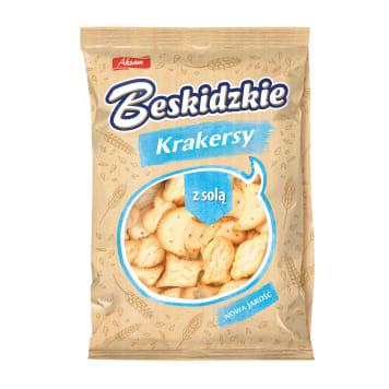 BESKIDZKIE Mini Krakersy z solą 90g