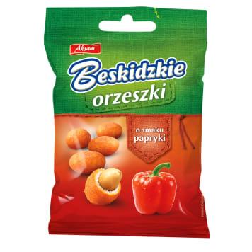 BESKIDZKIE Coated peanuts with paprika flavour 70g