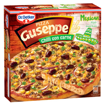 DR. OETKER GUSEPPE Pizza Mexican Style Chilli con Carne 395g