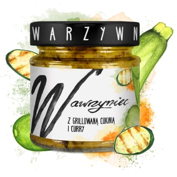 WAWRZYNIEC Vegetable paste with grilled zucchini and curry 180g