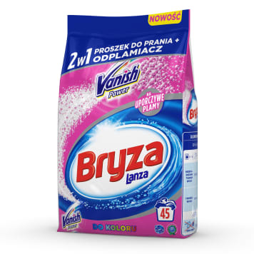 BRYZA Vanish Ultra 2w1 Washing powder for colored fabrics and stain remover 3.375 kg
