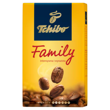 Kawa mielona - Tchibo Family