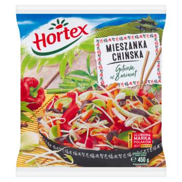 Mieszanka Chińska mrożona - Hortex to kompozycja, z której bardzo szybko można wyczarować danie.