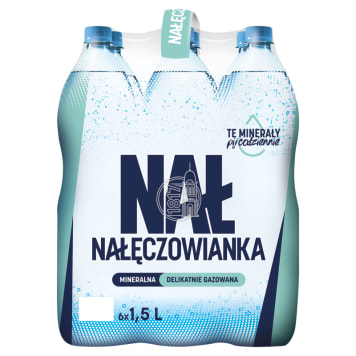 NAŁĘCZOWIANKA Natural Lightly Carbonated Mineral Water 9l