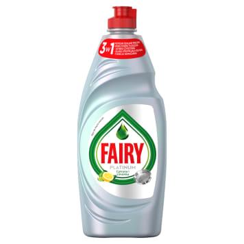 Fairy – Płyn do mycia naczyń cytryna i limonka Platinum usuwa tłuszcz i pozostawia świeży zapach.