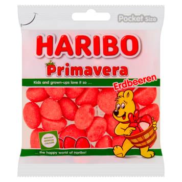 Pianki truskawkowe – Haribo to to smak lata zamknięty w poręcznym opakowaniu.