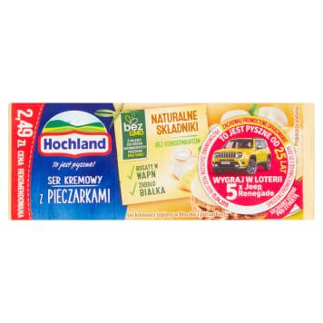 Ser topiony z pieczarkami w bloczku – Hochland wspaniały dodatek do kanapek.