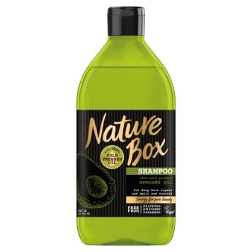 NATURE BOX Hair shampoo with avocado oil 385ml