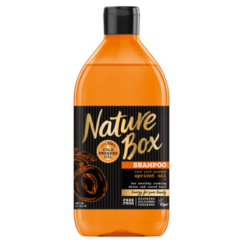 NATURE BOX Hair shampoo with apricot oil 385 ml