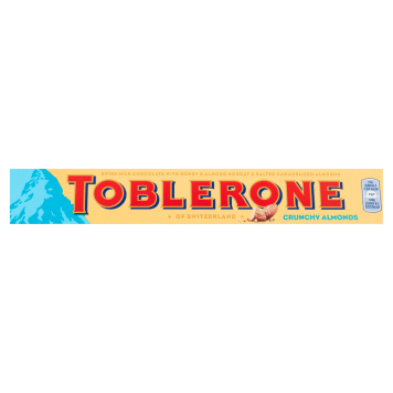 TOBLERONE Milk chocolate with salted almonds and nougat 100 g