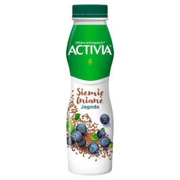 DANONE Activia Yogurt is linseed berry 290 g