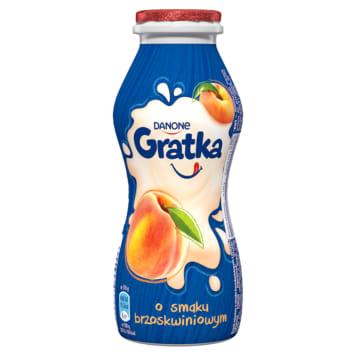 DANONE Gratka A milk drink with a peach flavor 170g