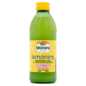 MONINI Sicilian lemon juice 240ml
