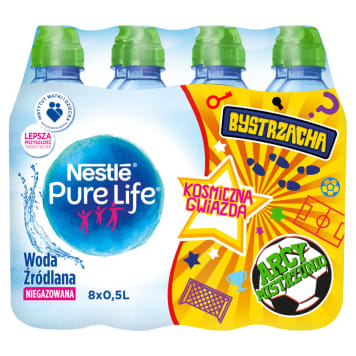 NESTLÉ PURE LIFE BYSTRZACHA Non-carbonated spring water 4l