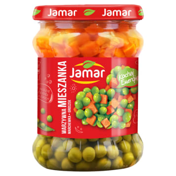 JAMAR Vegetable mix - peas with carrots 470g