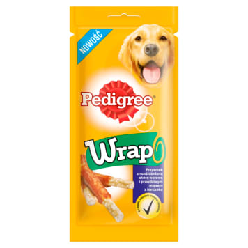 PEDIGREE Wrap A delicacy for dogs 40g