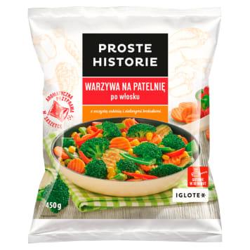 PROSTE HISTORIE Warzywa na patelnię po włosku 450g