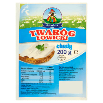 OSM ŁOWICZ Cottage cheese thin Łowicki 200g