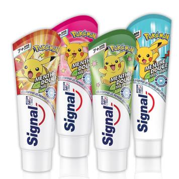 Miętowa pasta do zębów dla dzieci-SIGNAL JUNIOR. Chroni i czyści żeby pozostawiając świeży oddech