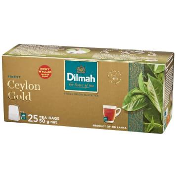 Dilmah Herbata Ceylon Gold to płód górskich upraw cejlońskich o głębokim kolorze i aromacie.