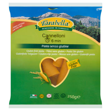 FARABELLA Makaron cannelloni bezglutenowy 250g