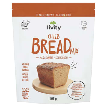 LIVITY A mixture for baking gluten-free bread 405 g