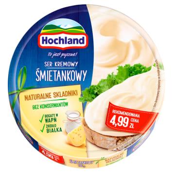 Ser topiony - Hochland. Wyśmietnity smak kanapek.
