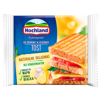 HOCHLAND Cream cheese in slices Tost 130g