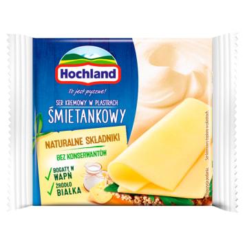 HOCHLAND Cream cheese in creamy slices 130g