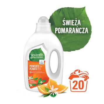 SEVENTH GENERATION Ekologiczny żel do prania świeża pomarańcza i kwiat pomarańczy 1l