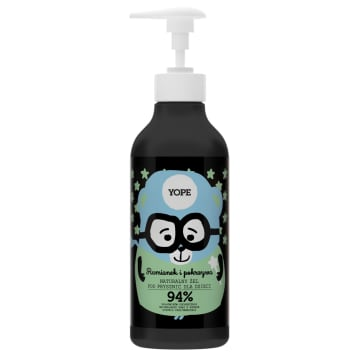 YOPE Shower gel for children Chamomile and Nettle 400 ml