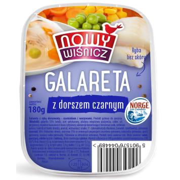 NOWY WIŚNICZ Jelly with black cod 180g